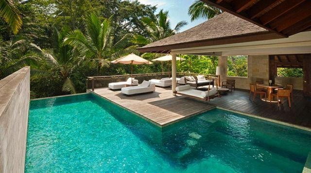 99 jardins et terrasses avec piscines de design moderne | INDONESIA ...