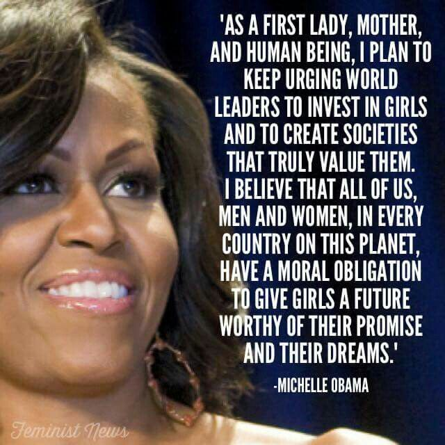 """""""As A First Lady,  ..."""""""