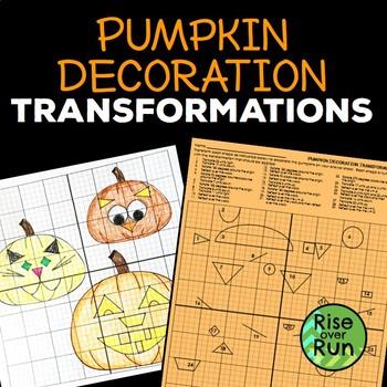 Transformations Halloween Activity Pumpkin Decorations
