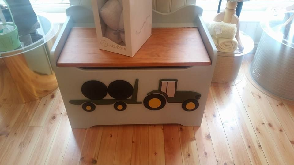Locally hand crafted toy boxs £120