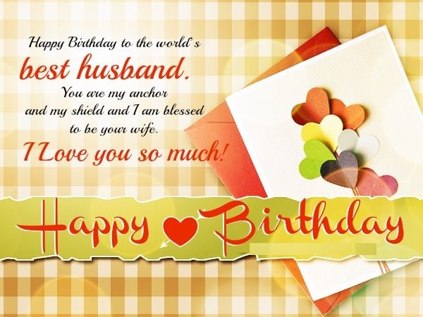 Birthday Wishes For Husband Husband Birthday Images