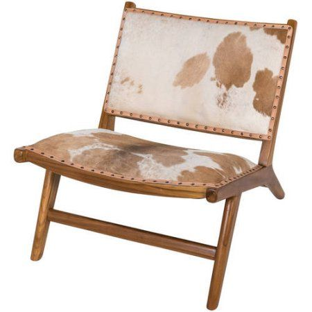 Tremendous Harley Low Rider Cowhide Lounge Chair Brown Products Gmtry Best Dining Table And Chair Ideas Images Gmtryco