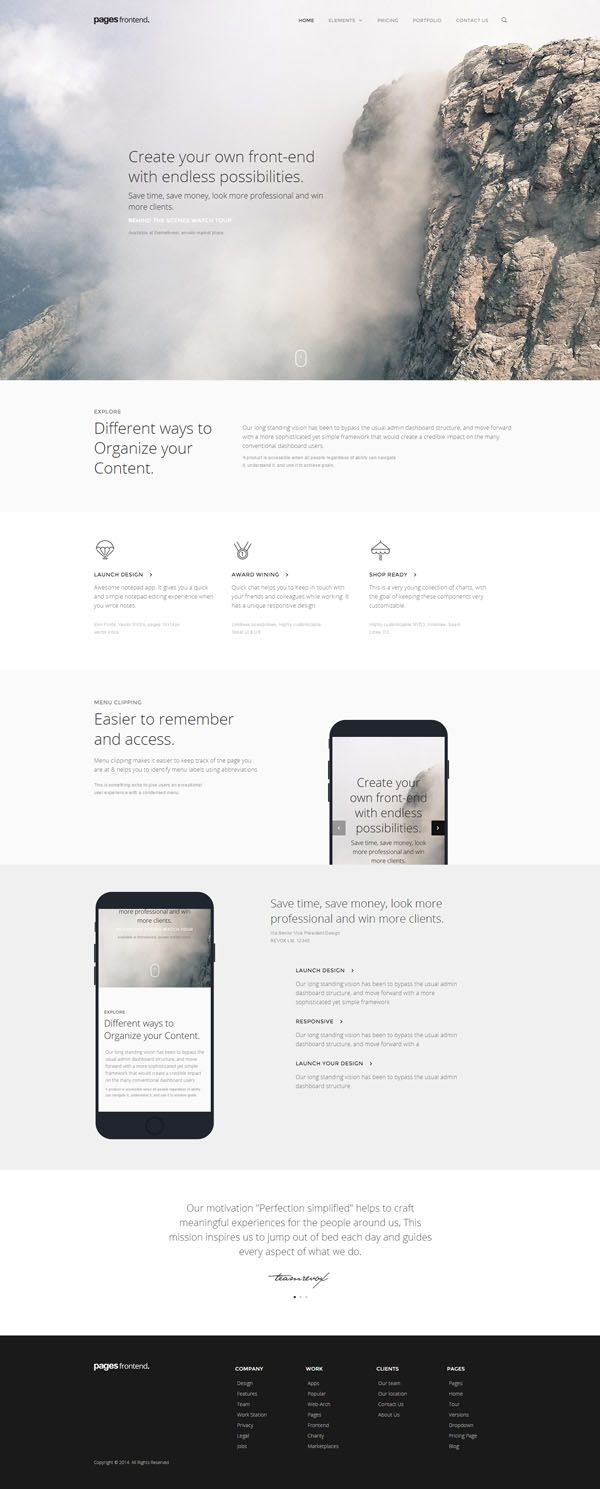 Pages multi purpose html5 website template design graphic unique and exclusive website templates was created by the professional team with significant experience in web development maxwellsz
