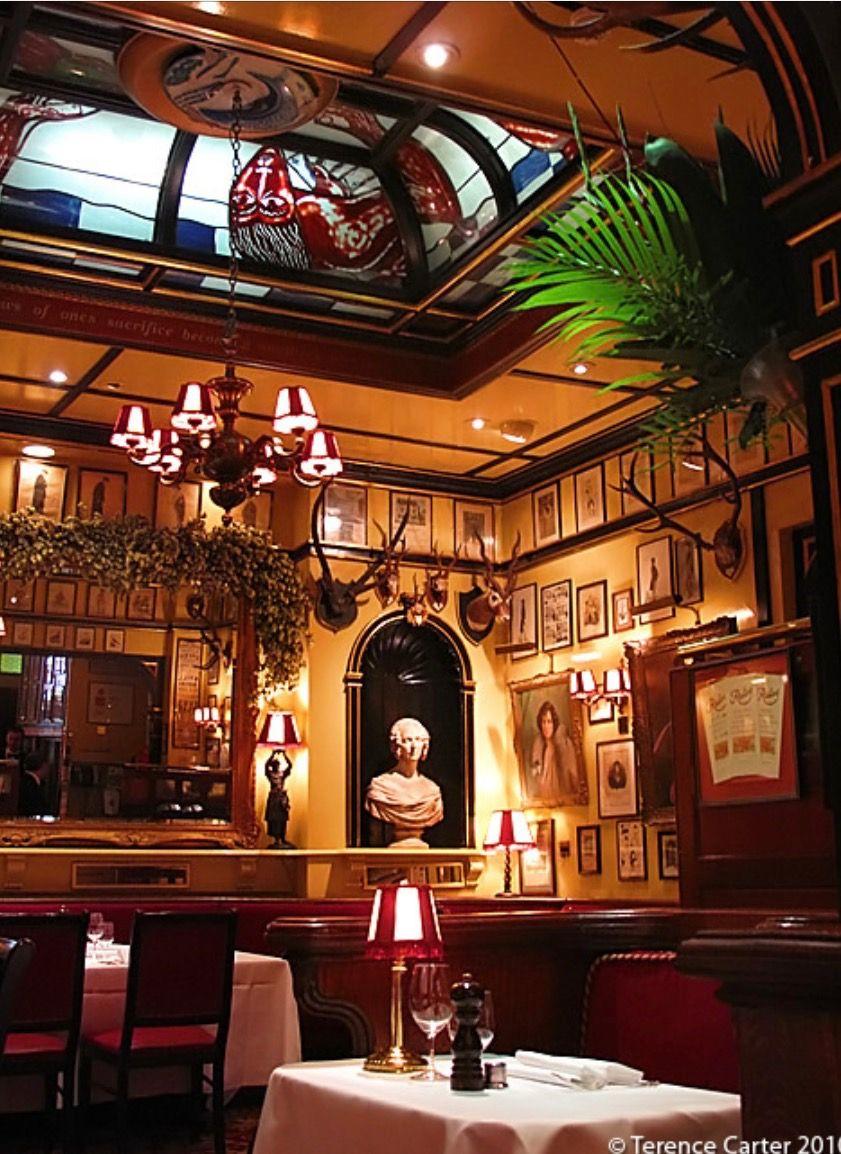 Rules restaurant, London's oldest restaurant Covent