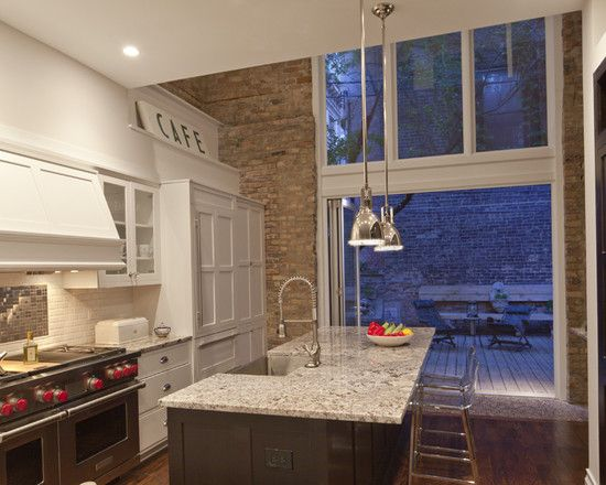 Chicago Kitchen Remodeling Decor whole house remodel idea: modern rowhouse design, pictures