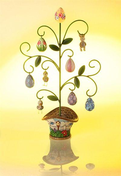 Jim Shore, Heartwood Creek , Easter, Easter Egg Tree