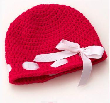 Little Sweetheart Hat Free Crochet Pattern | Kind