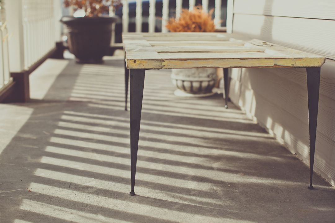 Tapered Angle Iron Table Legs Home Iron Table Legs