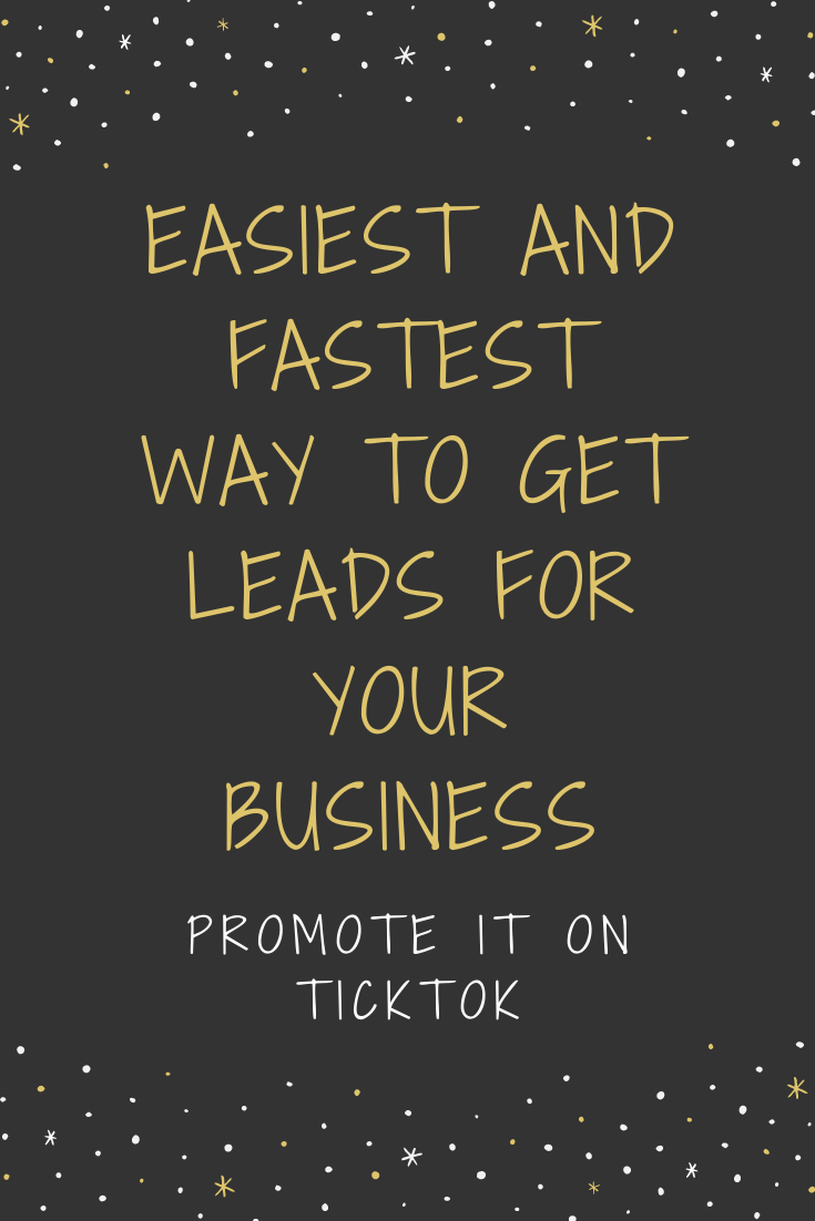Easy Way To Get Leads For Your Business Starting Your Own Business Motivational Memes Business