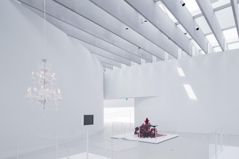 Gallery Of Corning Museum Of Glass Thomas Phifer And Partners 2 Glass Museum Corning Museum Of Glass Concrete Interiors