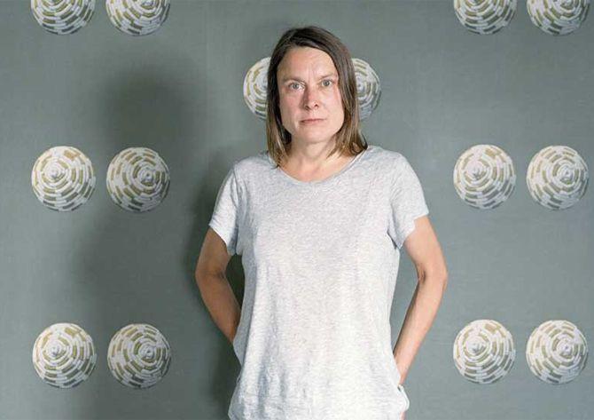 Sarah Lucas image via The Telegraph