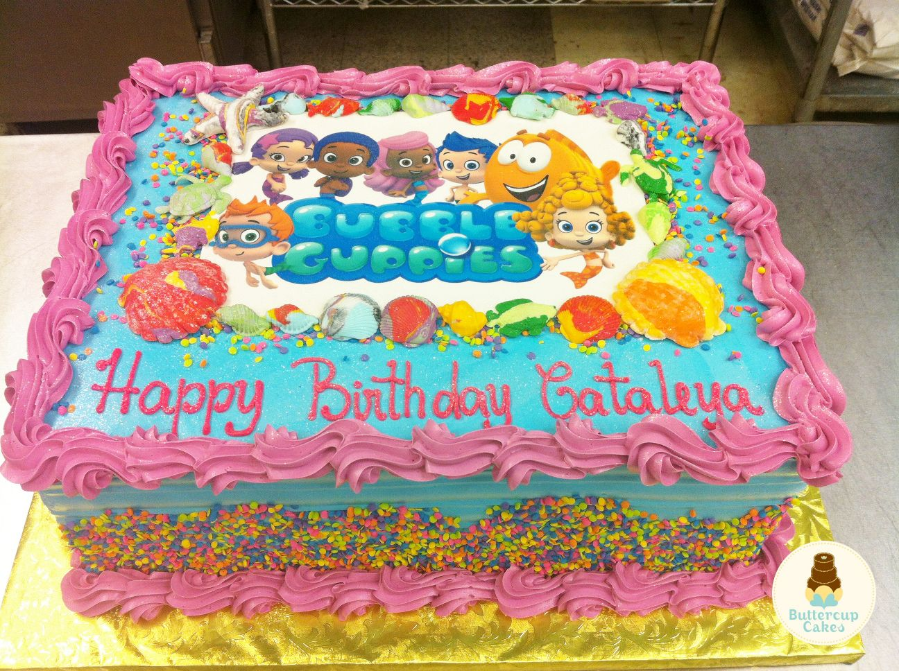 Bubble Guppies Cake Cartoon Character Cakes Pinterest Bubble