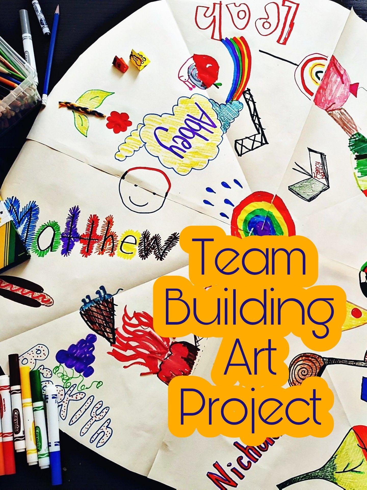 Kids Use Team Work To Create This Wheel