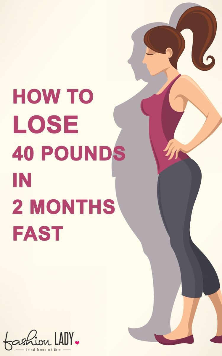 How to slim down fast in a month