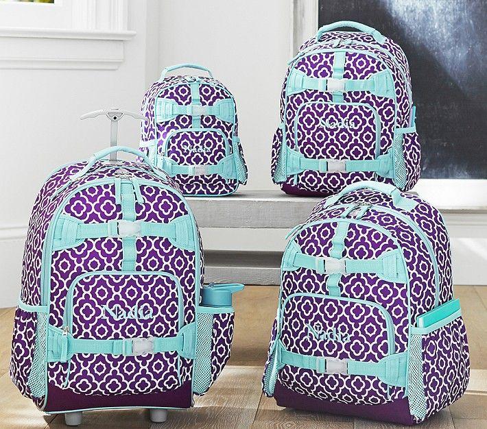 Mackenzie Plum Geo Backpacks Backpacks Kids Rolling