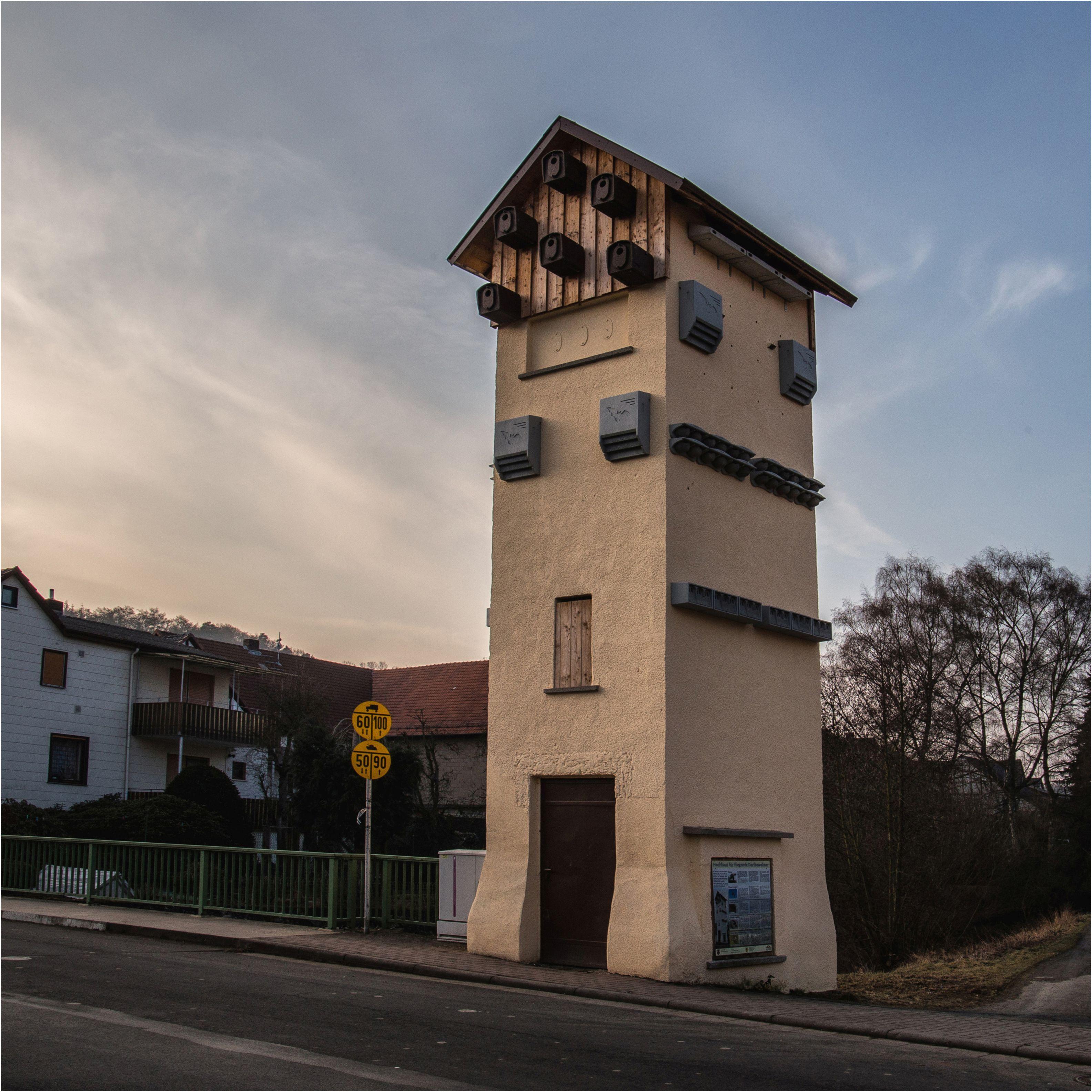 Ruhlkirchen, ehemalige Trafostation, Fledermaushotel