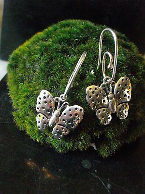 Mix & Match Earrings chain Einhänger Butterfly Butterfly Summer Silver Pandora