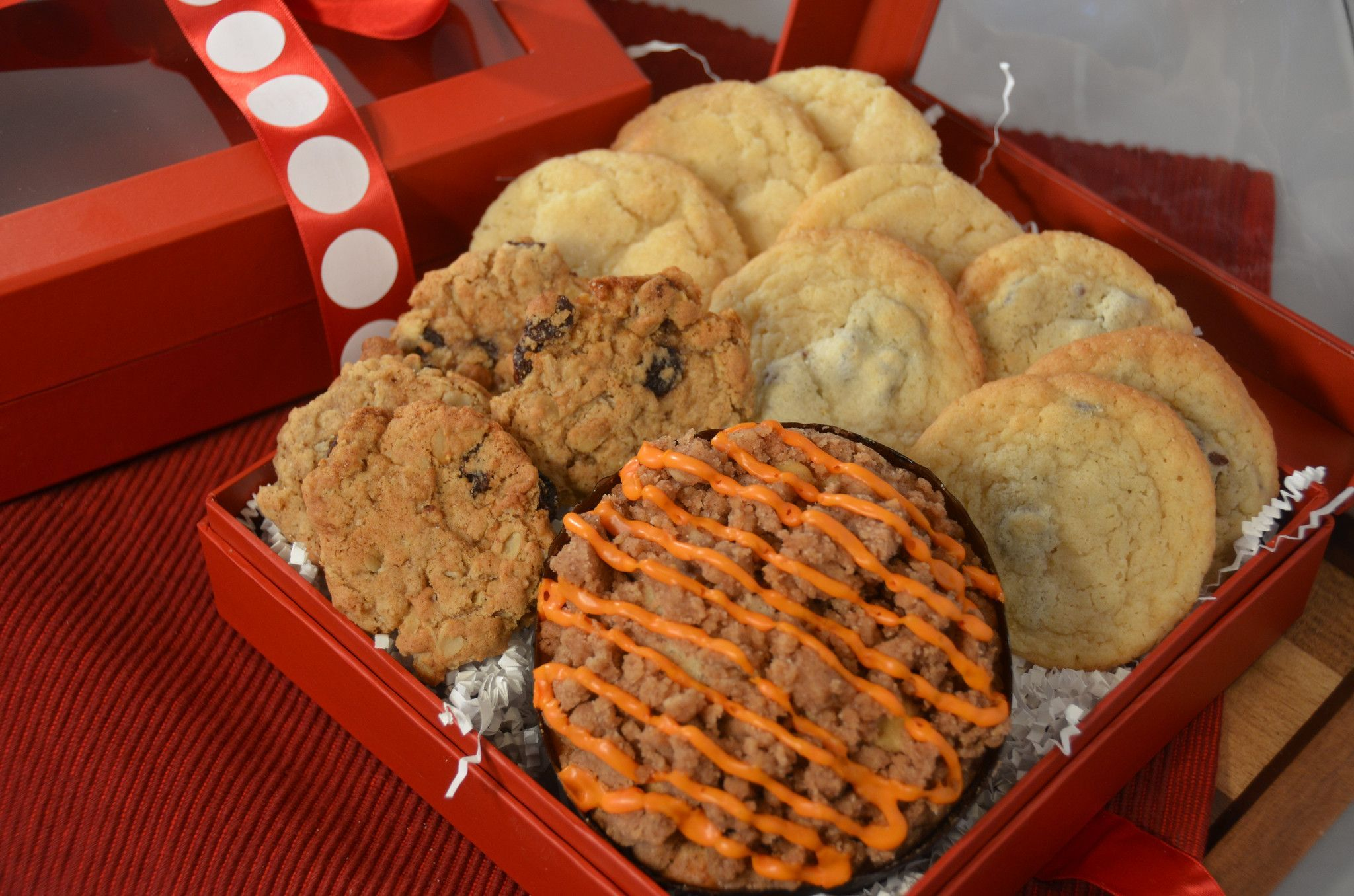 Pumpkin Spice Crumb & Cookie Assortment Box