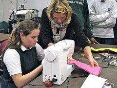 Conkerr Cancer Pillowcase Grade Viii Makes Pillowcases For The Conkerr Cancer Program To Be