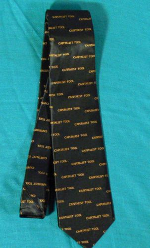 Capitalist Tool Men's Silk Neck Tie Made for Forbes Magazine | eBay