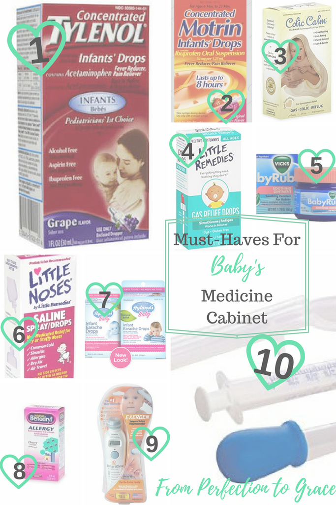 Must Haves For Baby S Medicine Cabinet Baby Medicine