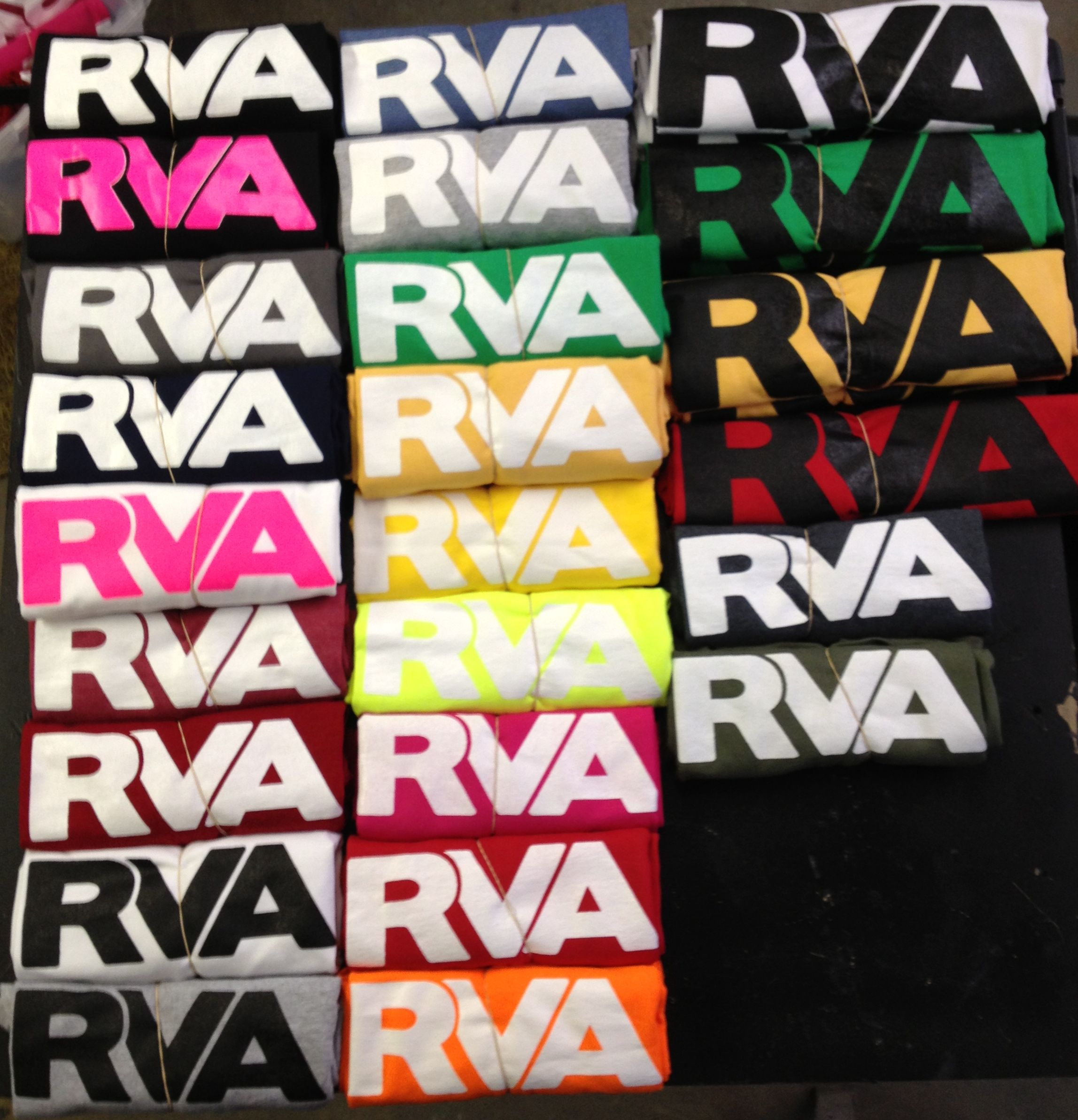 Lots of COLORS In stock! - RVA Shirts
