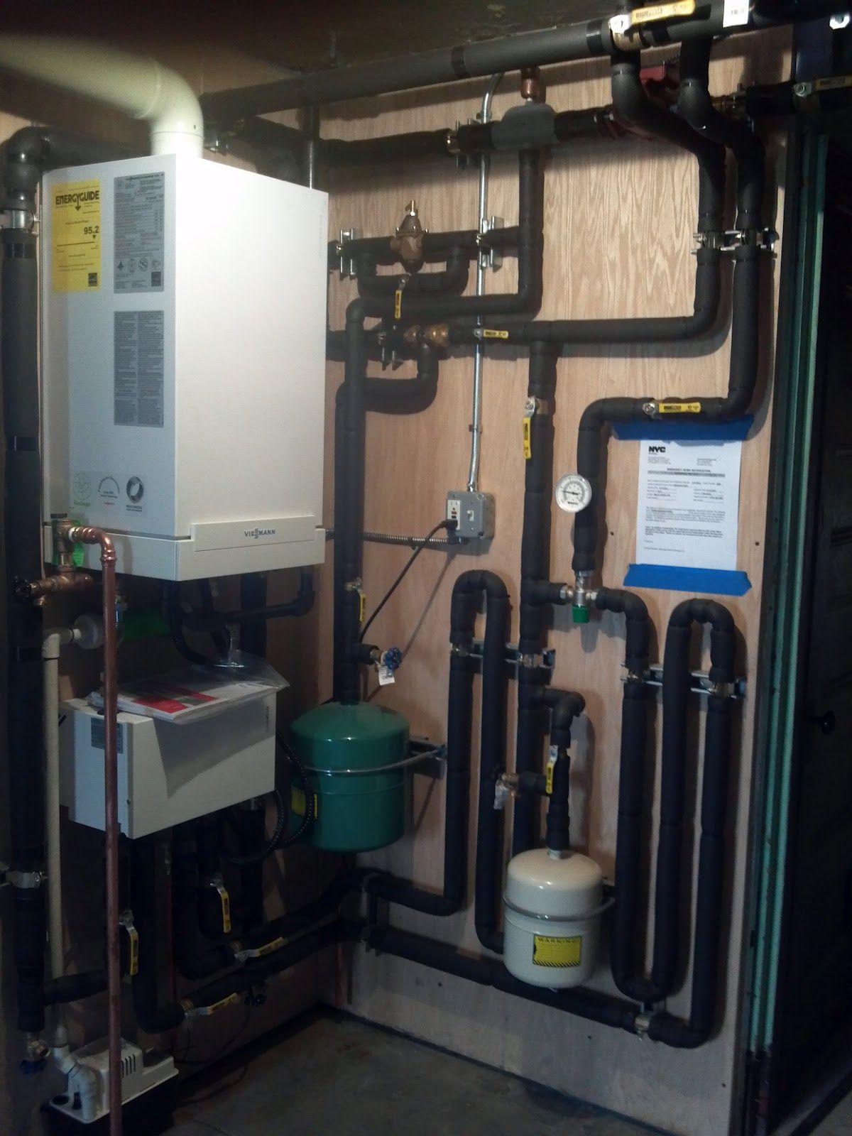 Viessmann Vitodens Combi Plus Boiler Installation