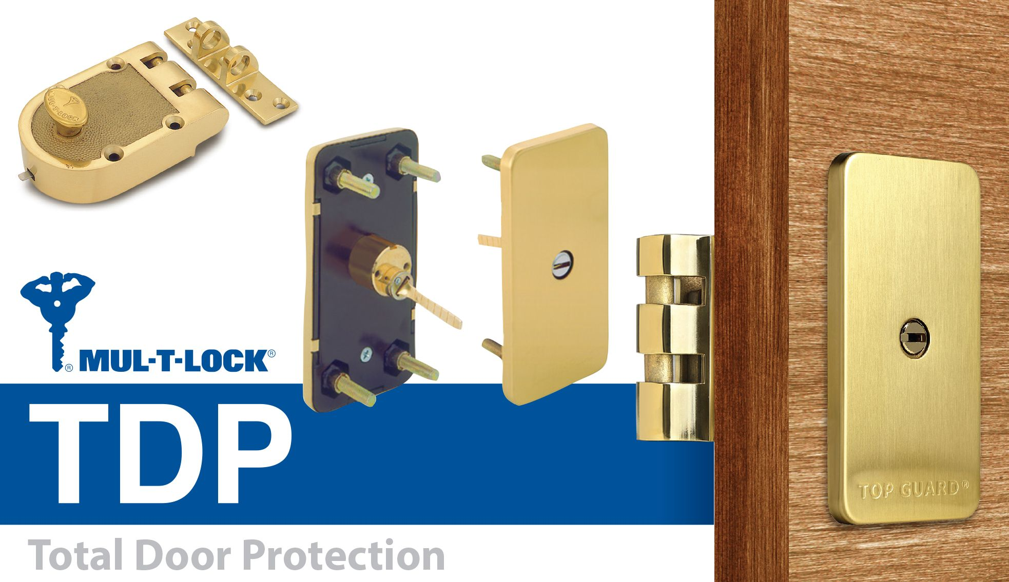 Tdp Combines A Surface Mounted Jimmy Proof Deadlock With