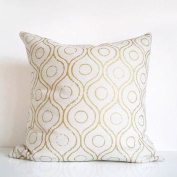 pillows throw pillow shimmer gold
