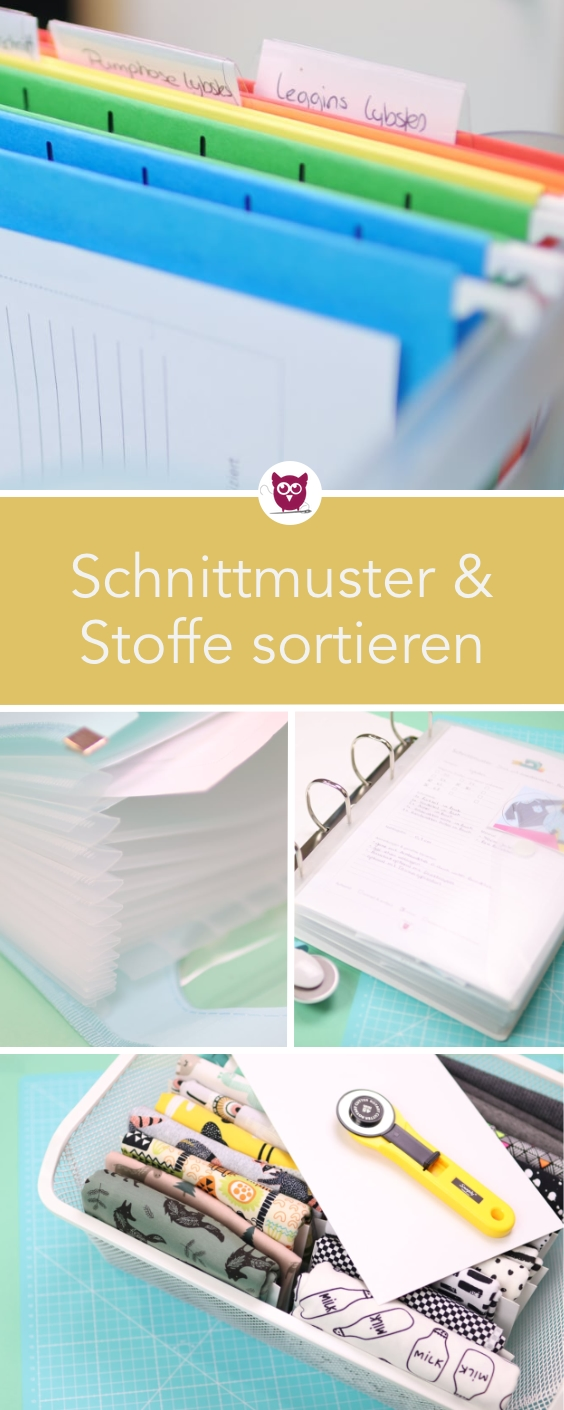 Photo of Schnittmuster & Stoff sortieren