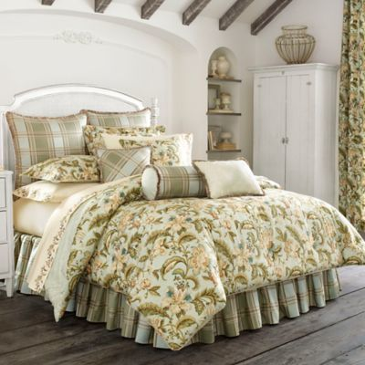 Piper Amp Wright Adeline Full Comforter In Aqua Products