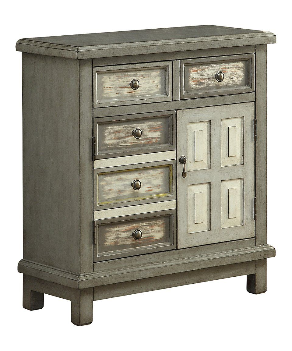 Take a look at this Homestead Gray Cabinet today! | Grey ...