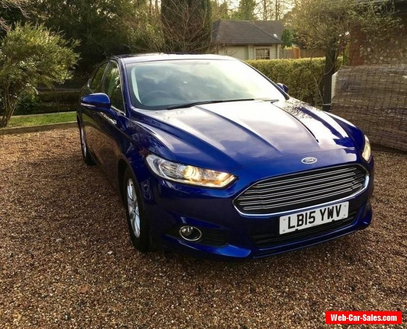 2015 Ford Mondeo 1 6 Tdci Econetic Zetec 5dr Ford Mondeo
