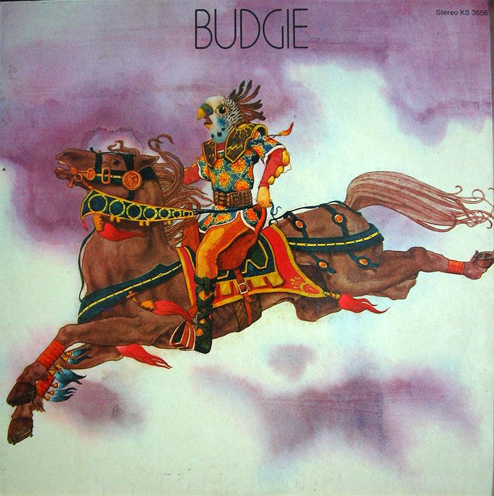 Budgie - British Radio Sessions 1972 LP hard rock vinyl