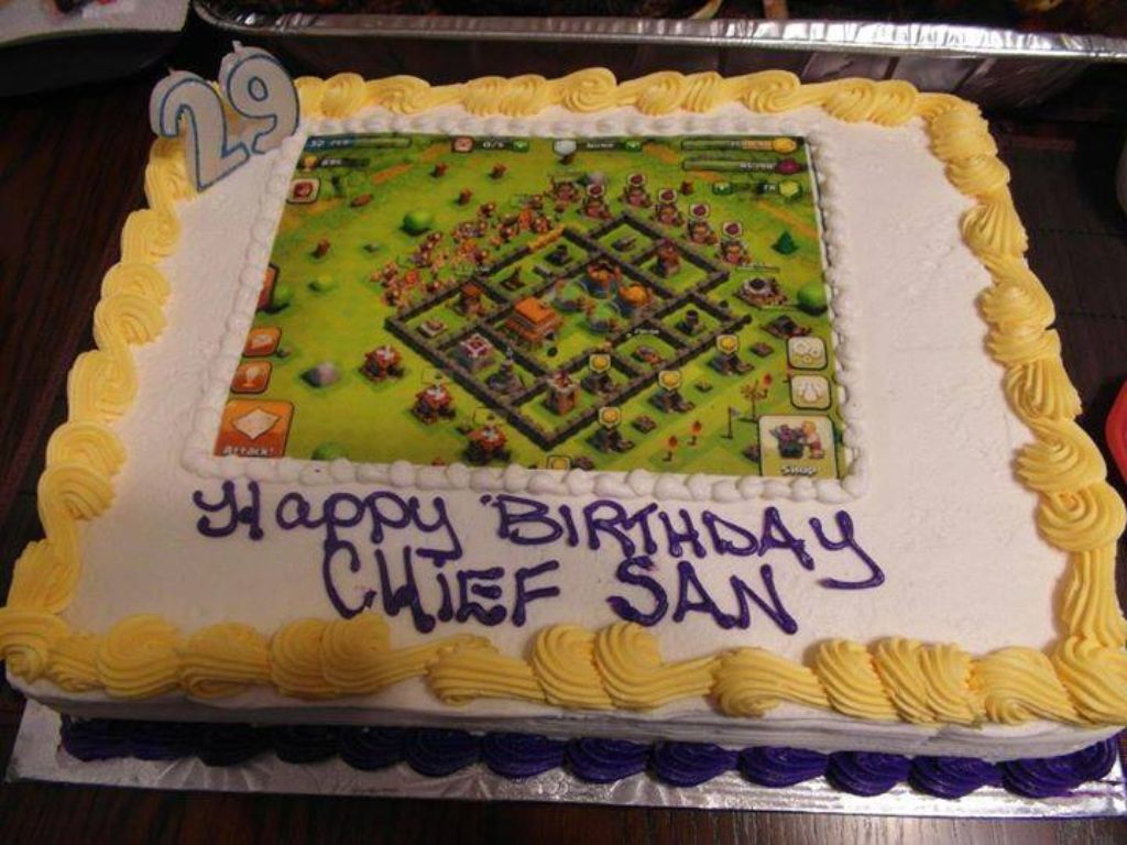 Decor De Gateau Clash Royale