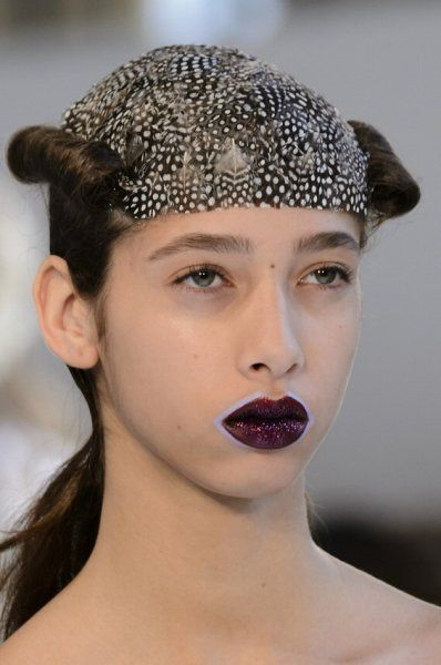 Estremismi da Maison Margiela #hairstyle #makeup #avantgarde
