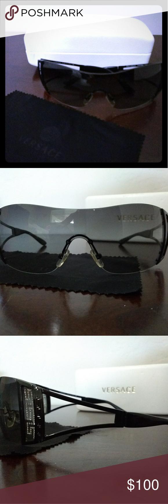 a6ce231c1cb9 Versace sunglasses Excellent condition. Versace sunglasses. Model 2058-B.  Comes with original