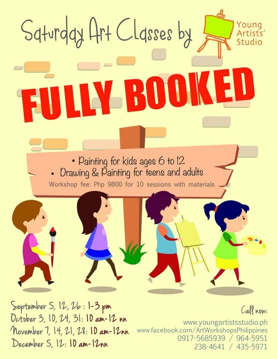 Ilovetaguig saturday art classes by young artists