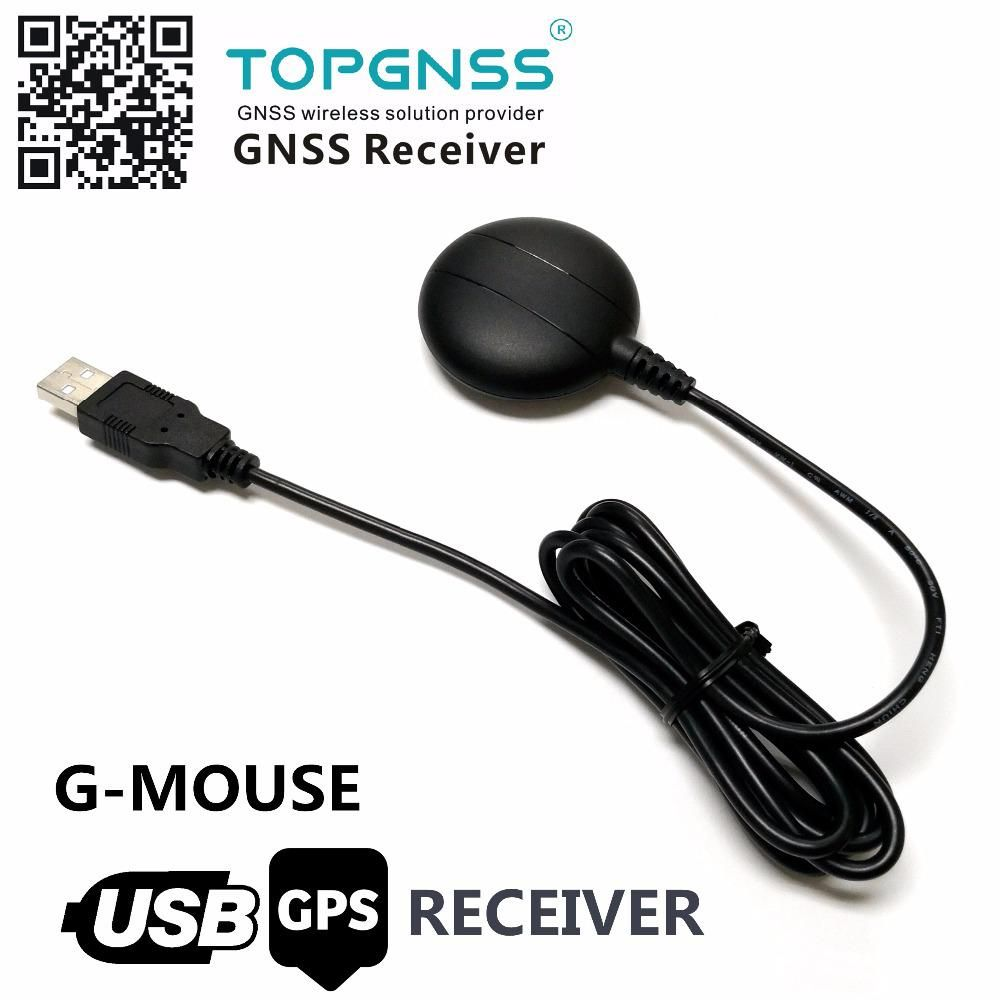 NEW USB GPS Receiver GMOUSE Antenna Module USB Output NMEA