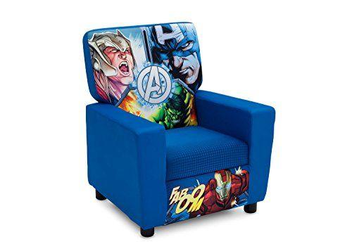 Delta Children High Back Upholstered Chair, Marvel Avengers Delta Children