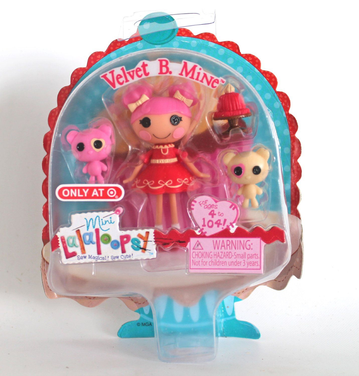 Mine Brand New Mini Lalaloopsy Valentines 2014 Target Exclusive Velvet B