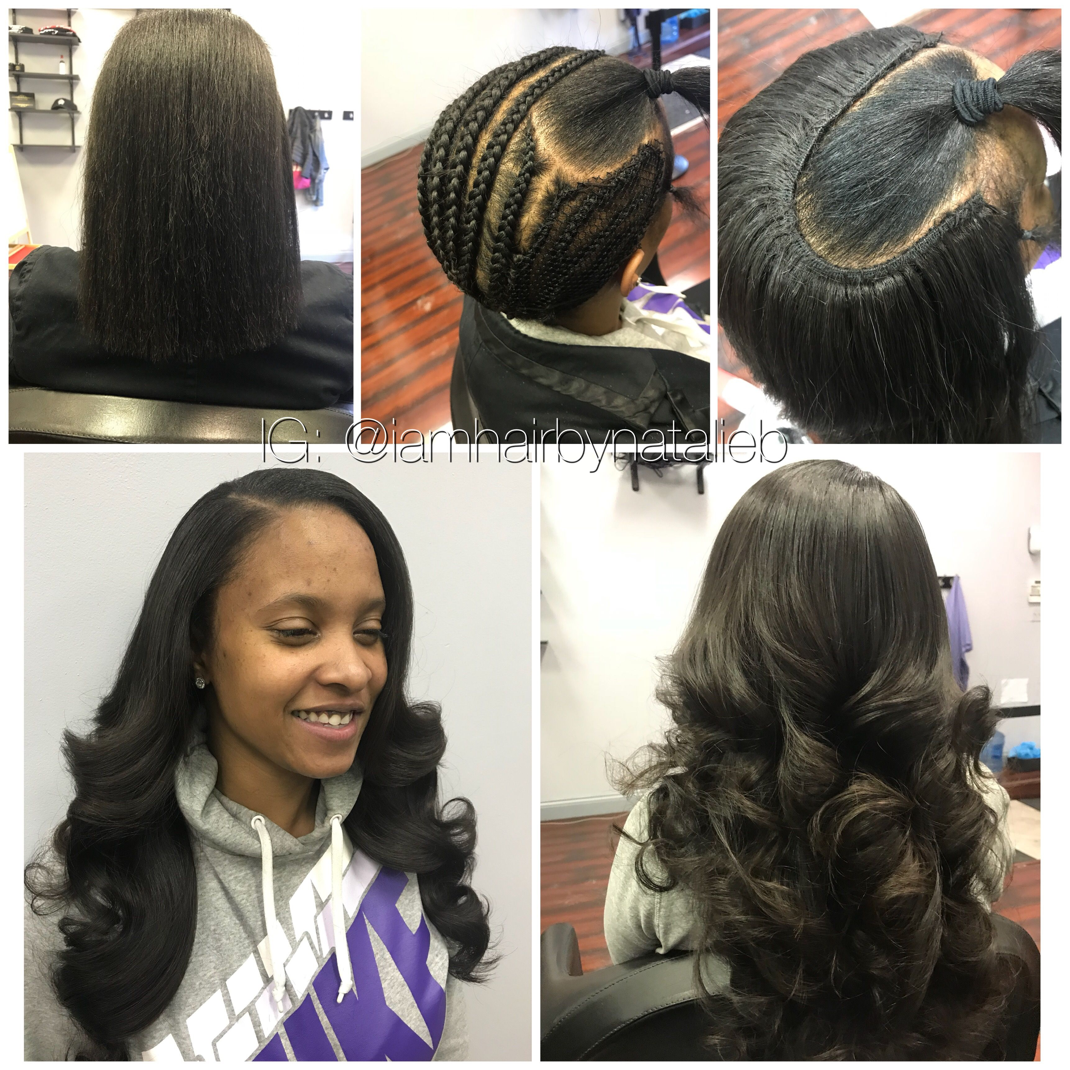 Sew In Hair Weaves That Actually Look Like Your Own Real Hair I Specialize In Creating The Most Natural Loo Weave Hairstyles Hair Styles Natural Hair Styles