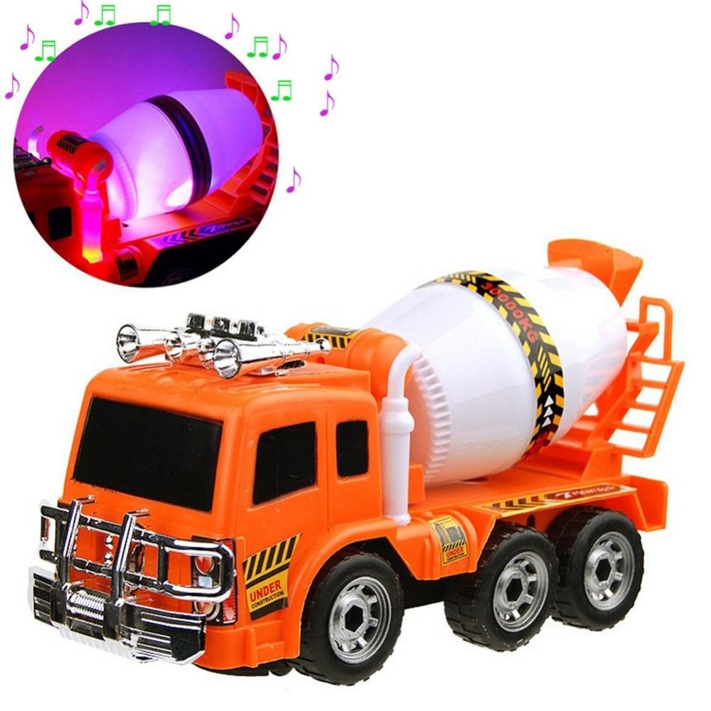 Baby toys car  Kids Baby Vehicle Toy   Boys Large Truck Cement Mixer Toy Car