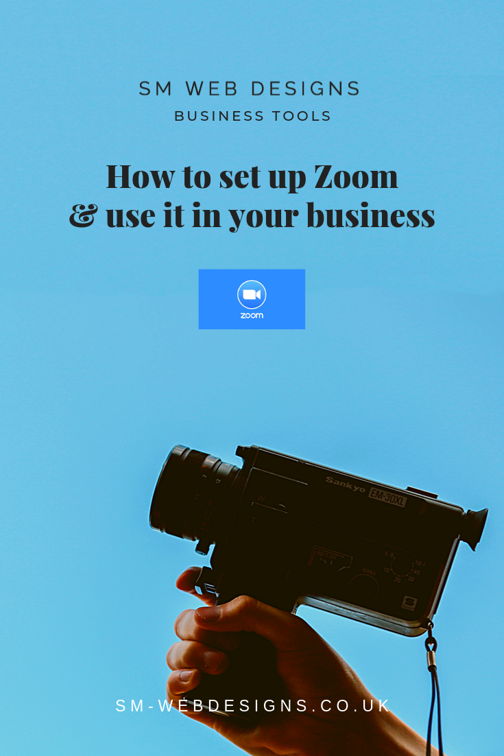 How to set up Zoom & use it in your business Web design