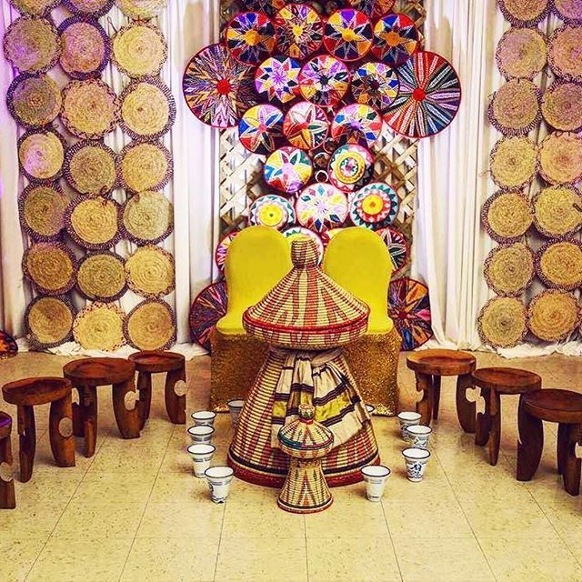 Traditional event ideas habesha wedding ideas decor for Ethiopian decorating style