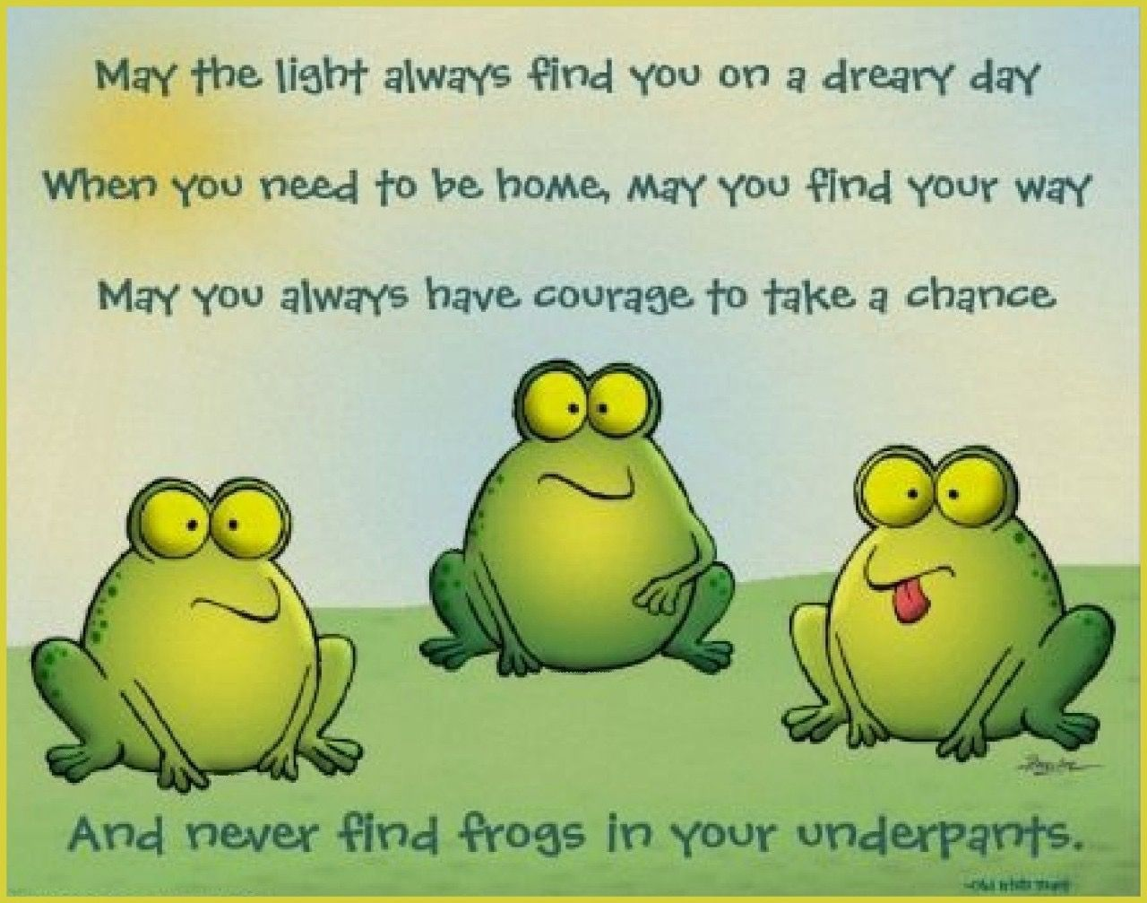 Pin by Terry Hancock on Froggy Funny inspirational