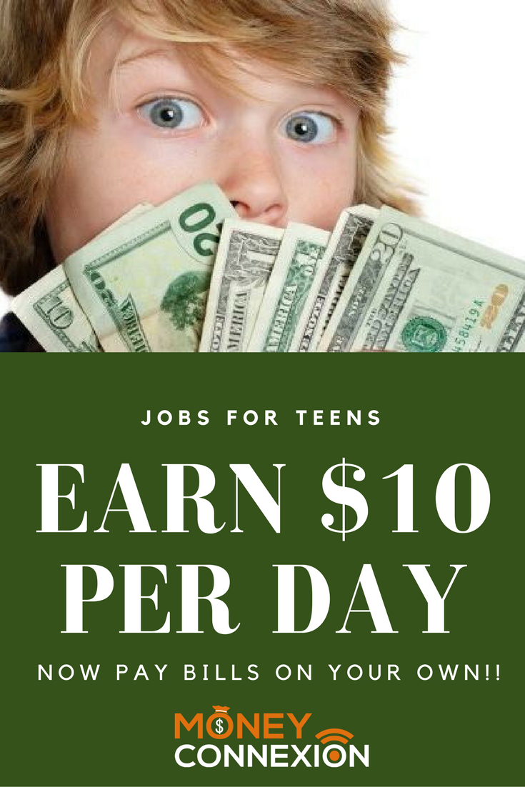 Young teen make money — photo 1