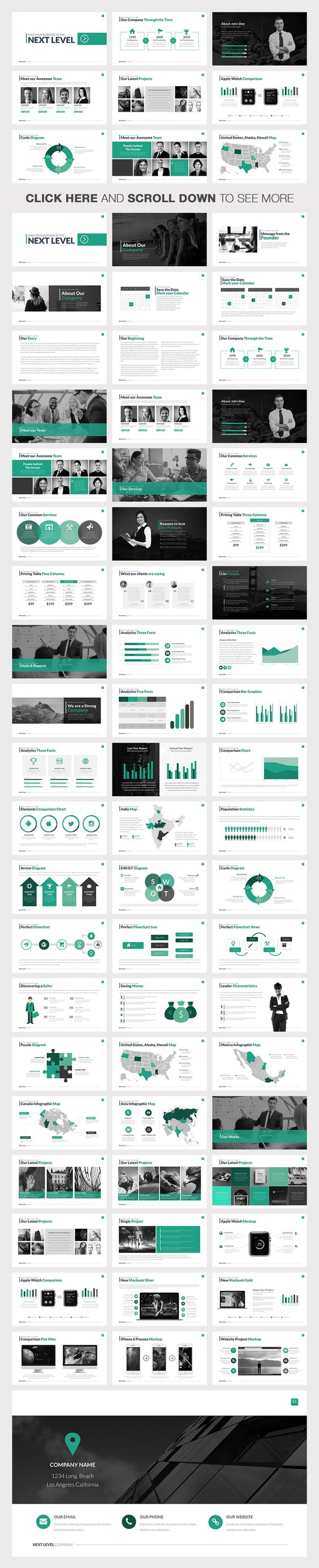 Next Level Powerpoint Template By Slidedizer On Creative Market