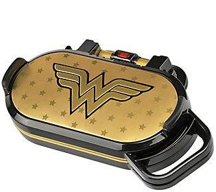 DC Comics Wonder Woman Pancake Maker — QVC.com #pancakemaker