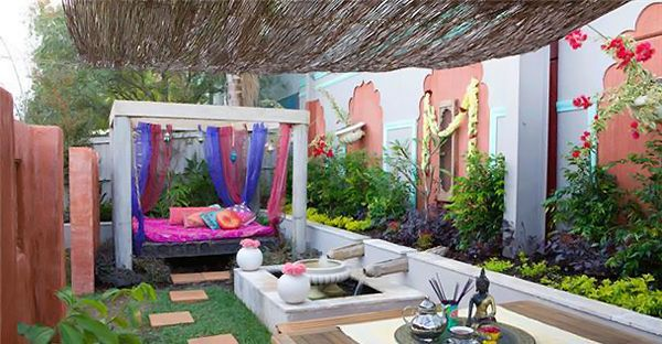 indian style garden design | Indian garden, Outdoor decor ...